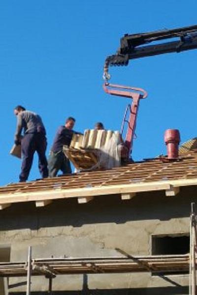 הובלת חומרי בניין