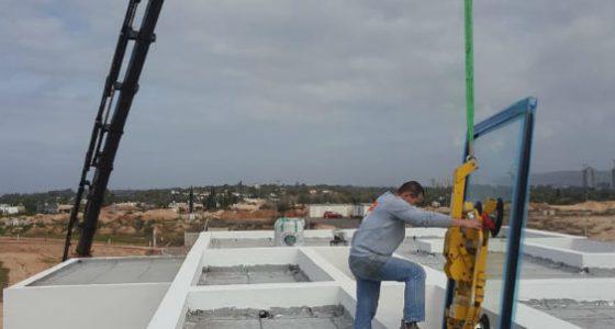 עבודות מנוף באתרי בנייה
